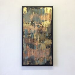 tecnica mista su tela  | cm.54x104